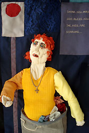 Red Light District - konstverk av Sidsel Bryde
